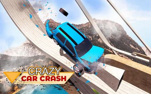 Скачать Car Crash Beam Drive NG Crashes: Destruction Arena [Без кеша] версия 1.1 apk на Андроид