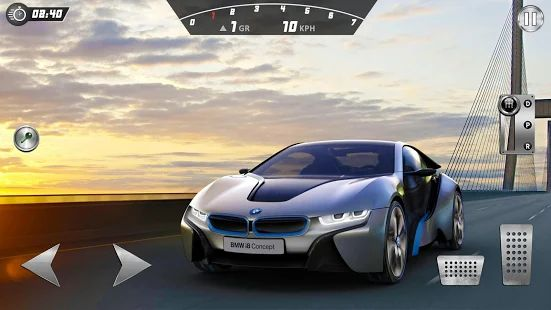 Скачать I8 Super Car: Crazy City Drift, Drive and Stunts [Без кеша] версия 1.1 apk на Андроид