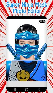 Скачать Super Ninja Mask Photo Editor [Неограниченные функции] версия 1.4 apk на Андроид